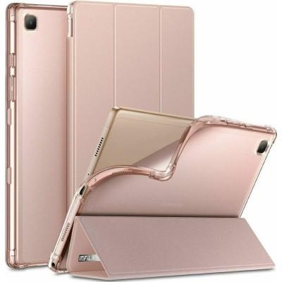 """Infiland Θήκη Smart Stand Samsung Galaxy Tab A7 10.4"""" 2020 T500 / T505 - Pink (0555TU-RR)"""