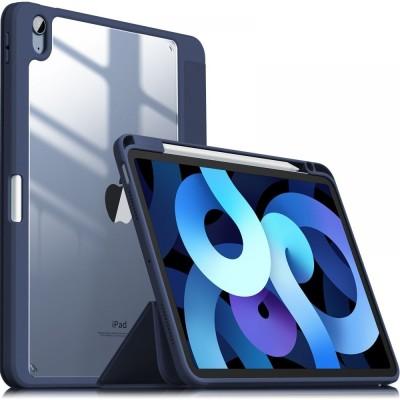 "Infiland Θήκη Crystal Stand Apple iPad Air 4 2020 10.9"" - Navy Blue (0557TBDB-E)"