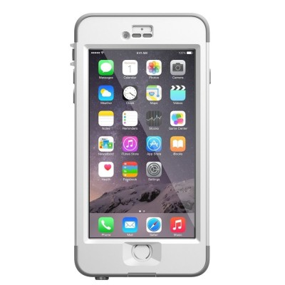 LifeProof ανθεκτική και αδιάβροχη θήκη για iPhone 6 Plus/ 6s Plus nuud White / Grey (77-51867)