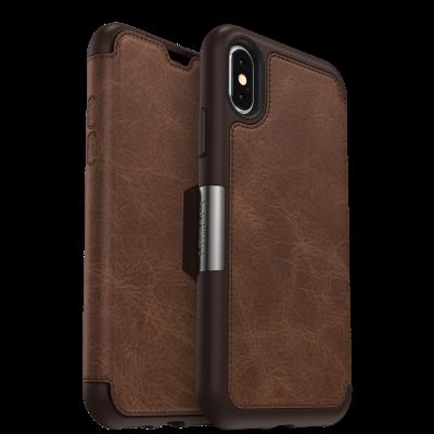 OtterBox iPhone X / Xs Strada Folio Espresso (77-59631)