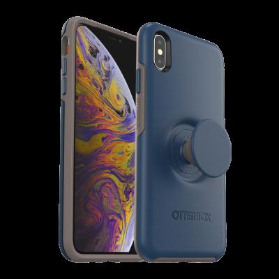 OtterBox iPhone Xs Max Pop Symmetry Blue (77-61742)