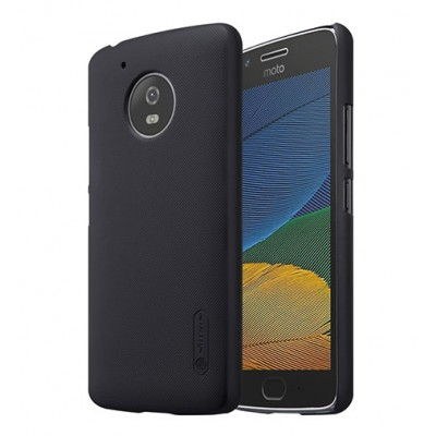 Nillkin Θήκη Super Frosted Shield Motorola Moto G5S & Screen Protector - Black