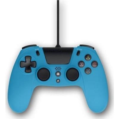 Gioteck Ενσύρματο Χειριστήριο VX4 Για Το Playstation 4 – Γαλάζιο (VX4PS4-12-MU)