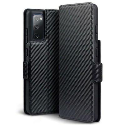 Terrapin Low Profile Θήκη - Πορτοφόλι Carbon Fibre Samsung Galaxy S20 FE - Black (117-002a-326)