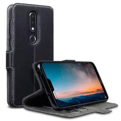 Terrapin Θήκη - Πορτοφόλι Nokia 6.1 Plus - Black