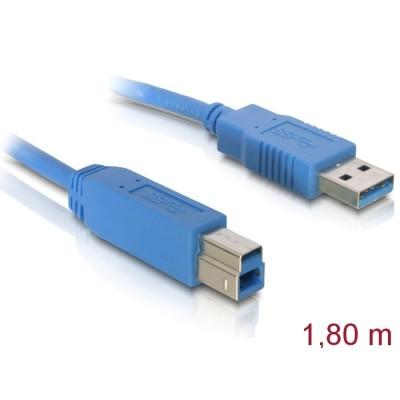 Delock USB 3.0 Data Cable M/M 2m Blue (82434)