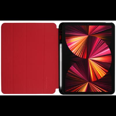 "Crong FlexFolio Θήκη Apple iPad Pro 11"" 2021 / iPad Air 4 10.9"" 2020 με Υποδοχή Apple Pencil - Red (CRG-FXF-IPD11-RED)"