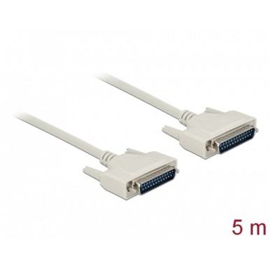 Delock Serial Cable D-Sub25 M/M 5m (84537)