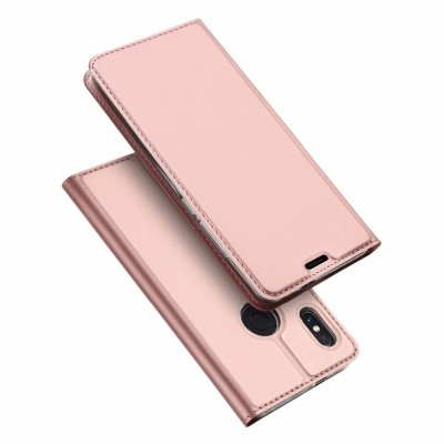 Duxducis SkinPro Flip Θήκη Xiaomi Redmi Note 5 / Redmi Note 5 Pro - Rose Gold