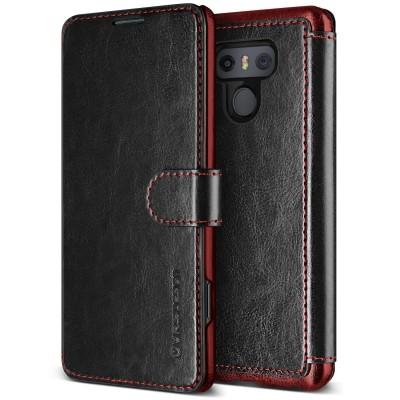 Verus Δερμάτινη Θήκη Πορτοφόλι LG G6 - Black