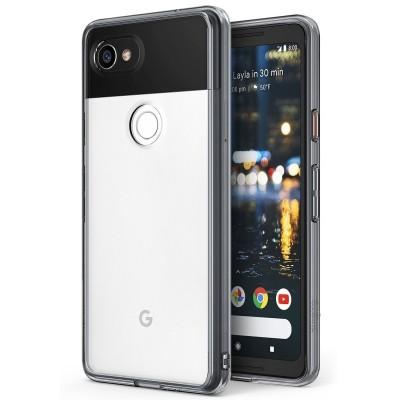 Ringke Fusion Θήκη για Google Pixel 2 XL- Smoke Black