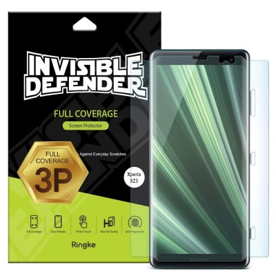 Ringke Invisible Defender Full Coverage Screen Protector Sony Xperia XZ3 - 3 τεμάχια