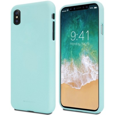 Mercury Soft Jelly Case for Samsung Galaxy A10 – Mint Matte (200-104-618)