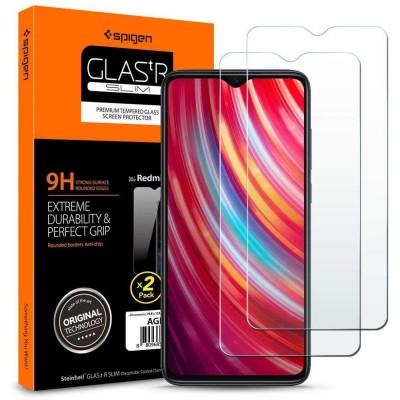Spigen Xiaomi Redmi Note 8 Pro GLAS.tR SLIM 2-Pack (200-104-917)