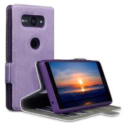 Terrapin Low Profile Θήκη - Πορτοφόλι Sony Xperia XZ2 Compact - Purple