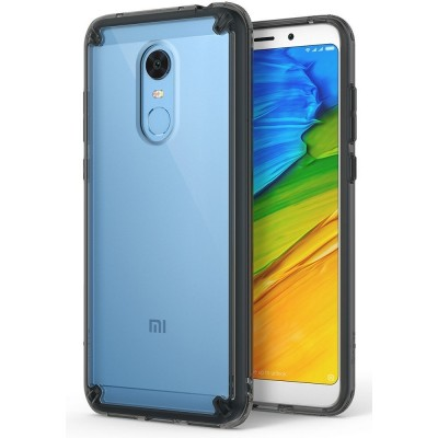 Ringke (Fusion) Θήκη Xiaomi Redmi 5 Plus με TPU Bumper - Smoke Black