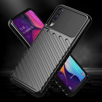 ΟΕΜ Θήκη Armored Thunder Samsung Galaxy A10 - Black (200-104-994)