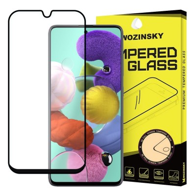 Wozinsky Full Cover Tempered Glass Full Glue Black για Samsung Galaxy A31 (200-106-644)