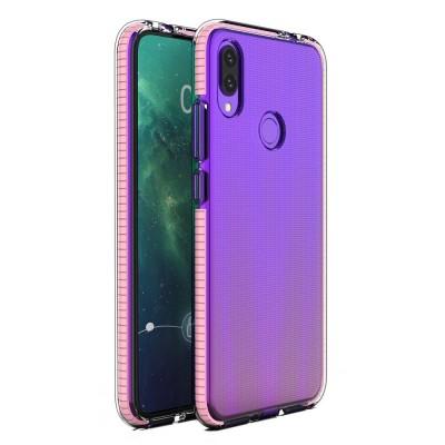 OEM Spring Case Διάφανη Θήκη Σιλικόνης για Huawei P Smart (2019) Light Pink (200-105-714)