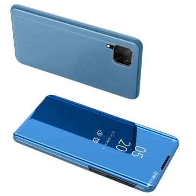 Θήκη Clear View Standing Cover για Huawei P40 Lite Μπλε - OEM (200-105-719)