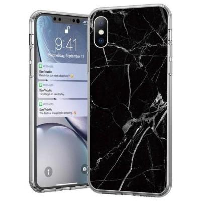 Wozinsky Marble TPU Θήκη Σιλικόνης για Samsung Galaxy A50 - Black (200-106-019)