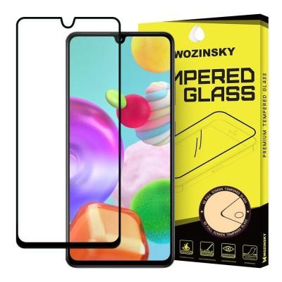 Wozinsky Full Cover Tempered Glass Full Glue Black για Samsung Galaxy A41 (200-106-141)