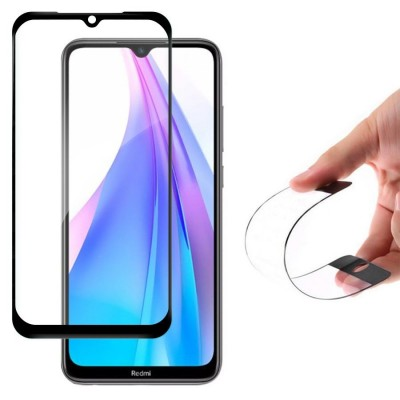 Wozinsky Full Cover Flexi Nano Tempered Glass Black Edge για Xiaomi Redmi Note 8T (200-105-789)