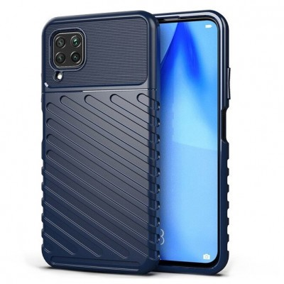 ΟΕΜ Θήκη Armored Thunder Huawei P40 Lite - Blue (200-106-627)