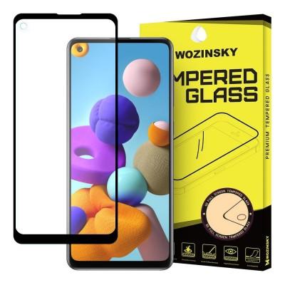 Wozinsky Full Cover Tempered Glass Full Glue Black για Samsung Galaxy A21s (200-106-142)
