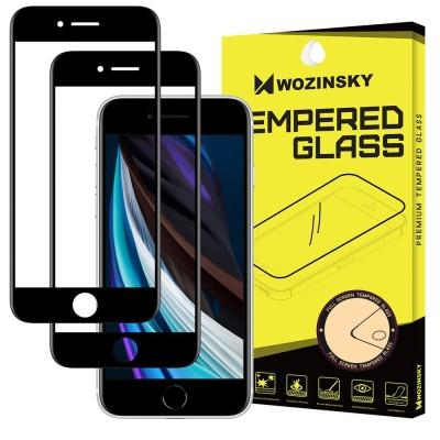 Wozinsky Full Glue Tempered Glass για Apple iPhone 7/8 - Black (2pcs) (200-107-598)