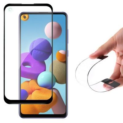 Wozinsky Full Cover Flexi Nano Tempered Glass Black Edge για Samsung Galaxy A21s (200-105-956)