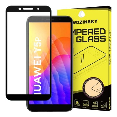 Wozinsky Full Cover Tempered Glass Full Glue Black για Huawei Y5p (200-106-645)