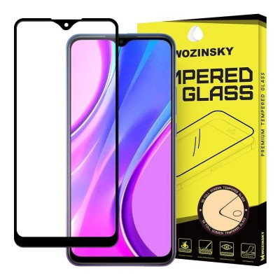 Wozinsky Full Cover Tempered Glass Full Glue Black για Xiaomi Redmi 9 (200-105-953)