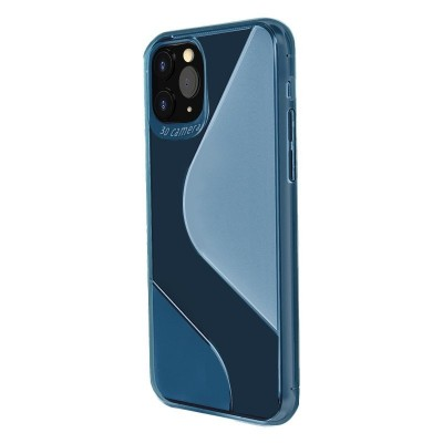 S-Case Θήκη Σιλικόνης για Samsung Galaxy A21S Μπλε OEM (200-106-007)