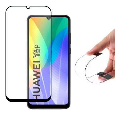 Wozinsky Full Cover Flexi Nano Tempered Glass Black Edge για Huawei Y6p (200-105-955)
