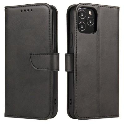 OEM θήκη πορτοφόλι για iPhone 12 Pro / 12 - Black (200-107-600)