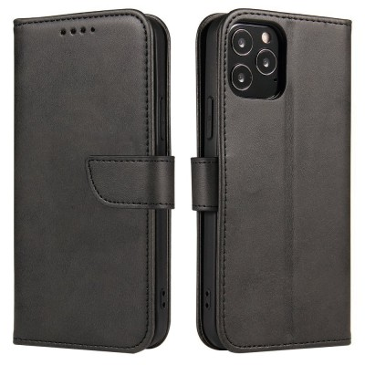 OEM θήκη πορτοφόλι για Huawei P40 Lite - Black (200-107-636)