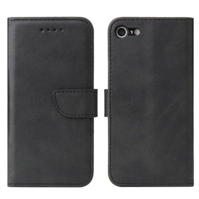 OEM θήκη πορτοφόλι για iPhone 7 / 8 / SE(2020) - Black (200-107-605)