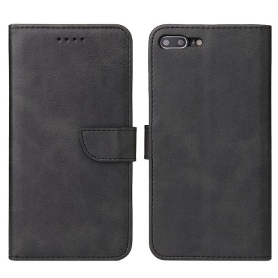 OEM θήκη πορτοφόλι για iPhone 7 Plus / 8 Plus - Black (200-107-606)