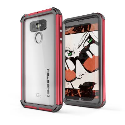 Ghostek Atomic 3 Αδιάβροχη Θήκη LG G6 - Red (CA-GHOCAS588-00)