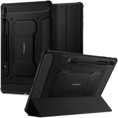 """Spigen Θήκη Rugged Armor Pro Samsung Galaxy Tab S7 Plus 12.4"""" T970 / T976 - Black (ACS01607)"""