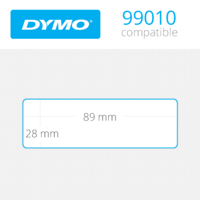 DYMO Address Labels 28mm x 89mm 130 τεμ (99010)