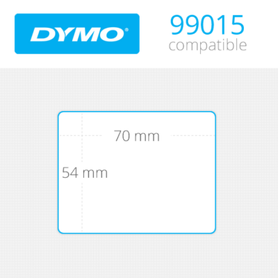 DYMO Large Multipurpose Labels 54mm x 70mm 320 τεμ (99015)