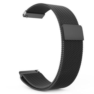 Ανταλλακτικό Λουράκι Milaneseband για Samsung Gear S3 - Black