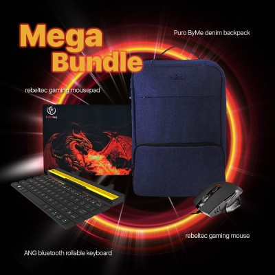 Mega Bundle - Mouse, Keyboard And Backpack (BEMAKR4)