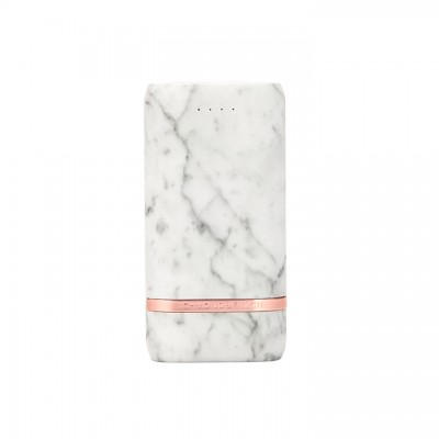 Richmond & Finch Lightning Compact Powerbank - White Marble (CP-014)