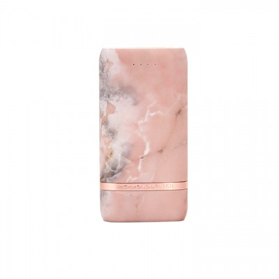 Richmond & Finch Lightning Compact Powerbank - Pink Marble (CP-114)