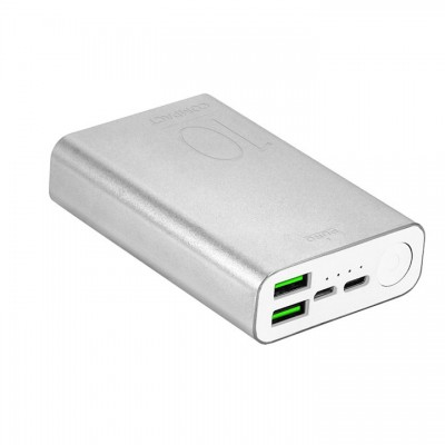 Powerbank Puro 10000mAh - Ασημί (FCBB100P7SIL)