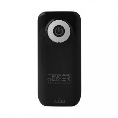 Powerbank Puro 4000mAh - Μαύρο (FCBB40C3BLK)
