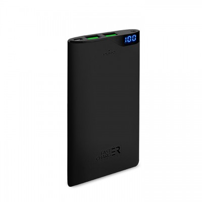 Powerbank Puro Soft Touch 6000mAh - Μαύρο (FCBB60P2BLK)